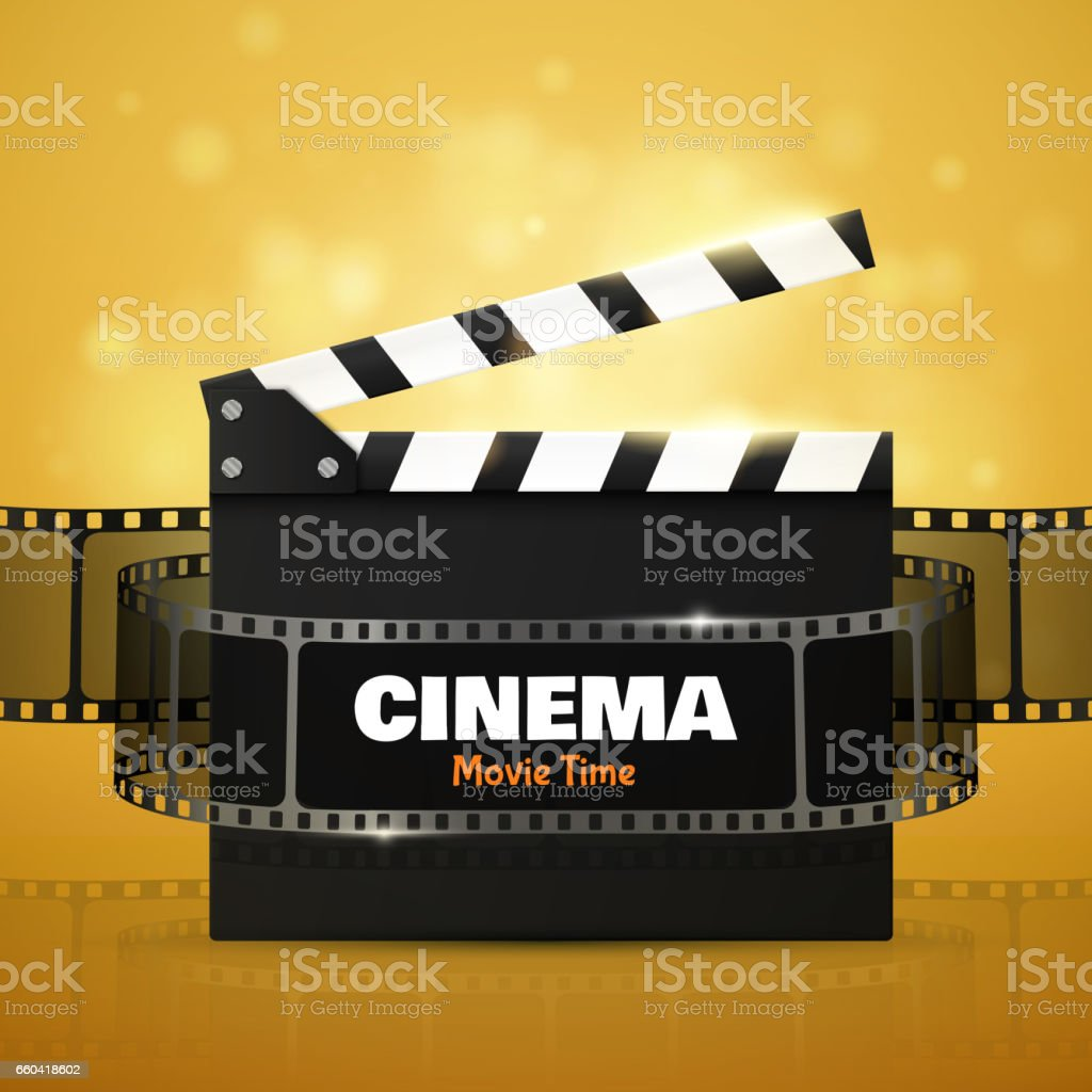 cinema flyer or poster vector illustration film festival template royalty free cinema flyer