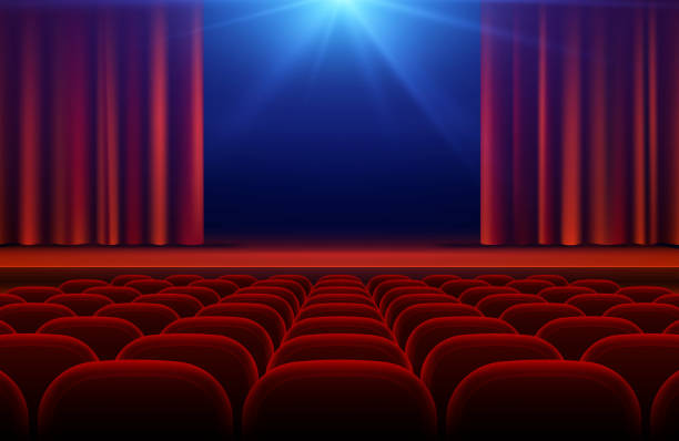 Best Audience Empty Seat Illustrations, Royalty-Free ...