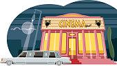 istock Cinema premiere 1313017316