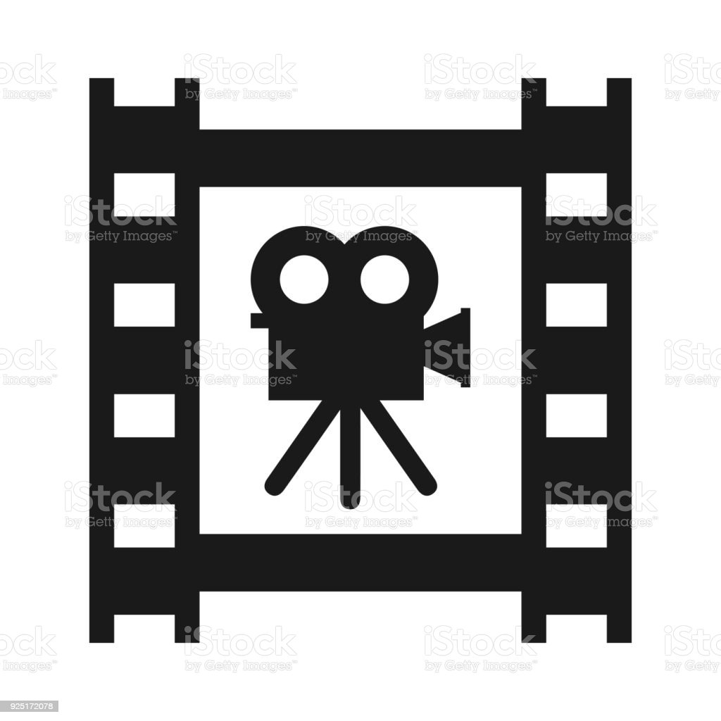 Cinema Tape With Camera Stock Vector Stock Illustration Download