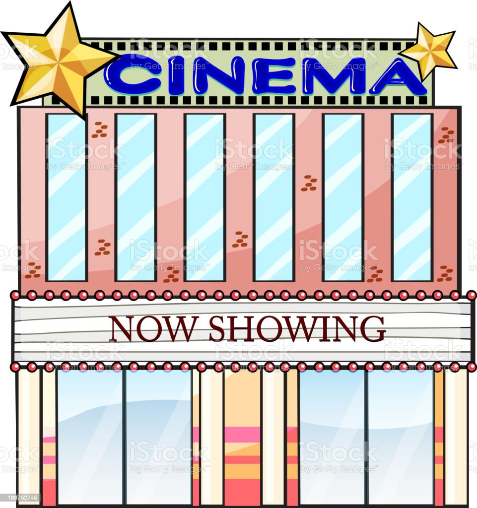 Cinema theater building royalty-free cinema theater building stock vector art & more images of alphabet