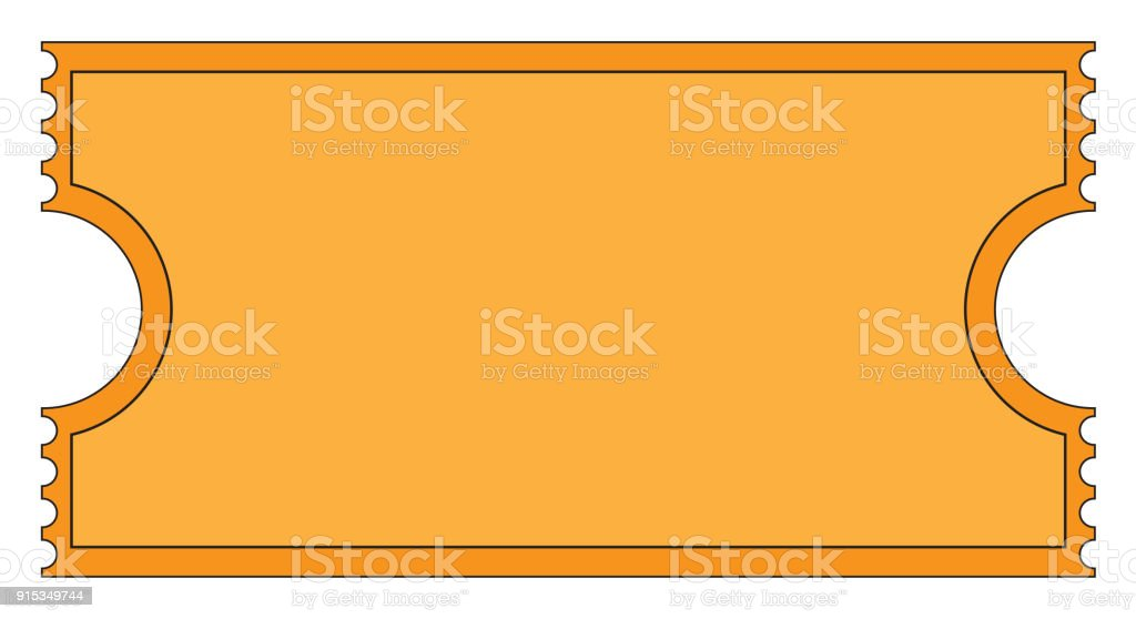 cinema ticket stock vector art more images of blank 915349744 istock rh istockphoto com  movie ticket stub clipart