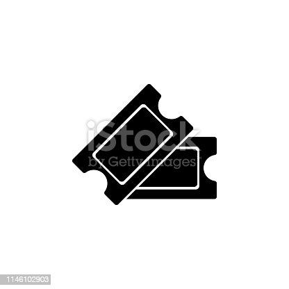 istock cinema tickets  icon. Signs and symbols can be used for web, logo, mobile app, UI, UX 1146102903