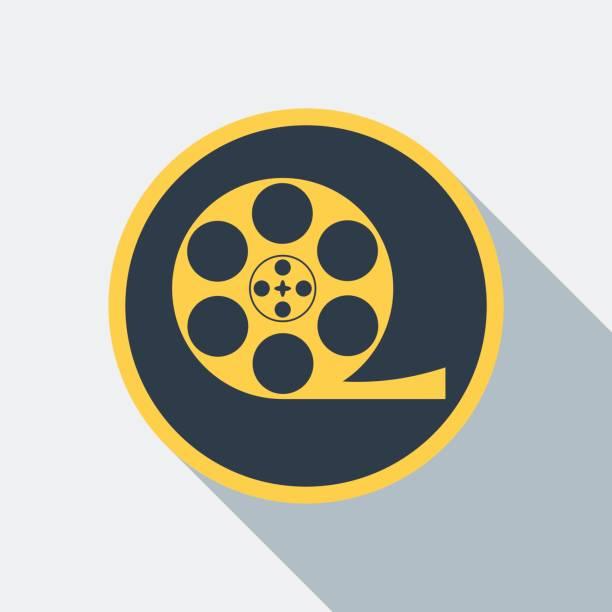 cinema type icon - oscars stock illustrations, clip art, cartoons, & icons