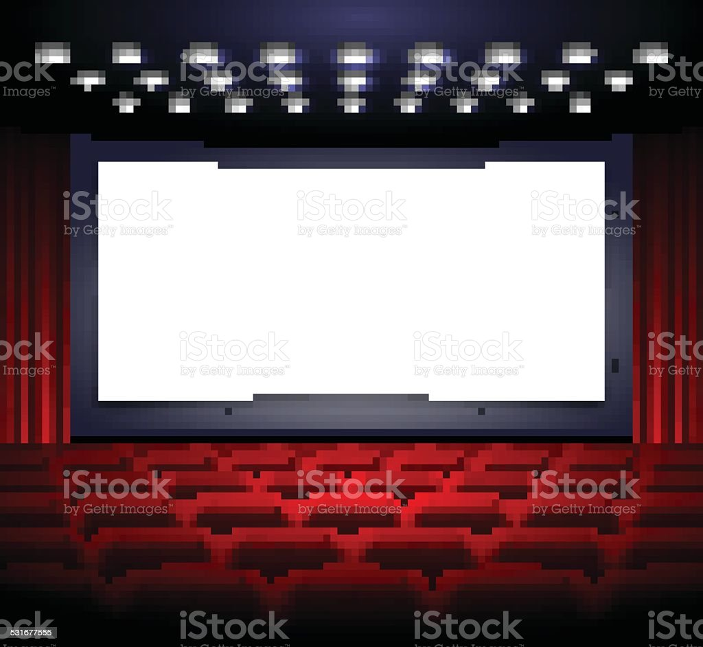 royalty free movie theater screen clip art  vector images Outdoor Movie Clip Art Movie Ticket Clip Art