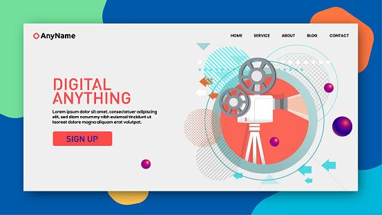 Cinema Web template