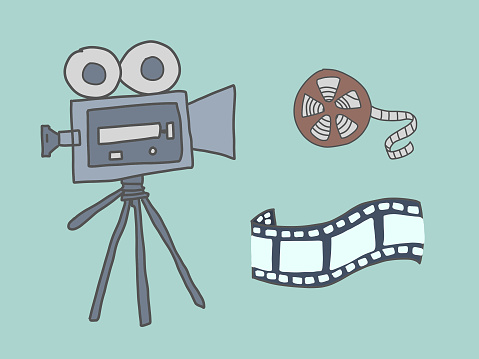 Cinematographer, film and reel to reproduce an old film