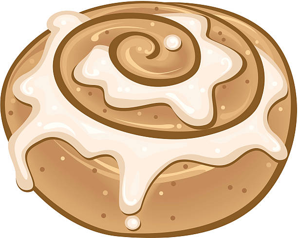Royalty Free Cinnamon Roll Clip Art, Vector Images ...