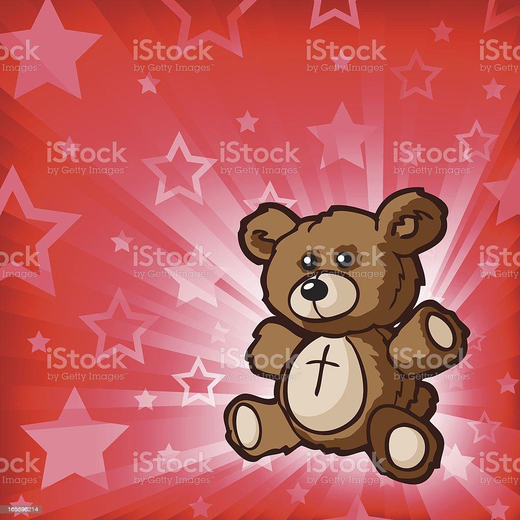 Cinnamon Osito de peluche ilustración de cinnamon osito de peluche y más banco de imágenes de celebración - acontecimiento libre de derechos