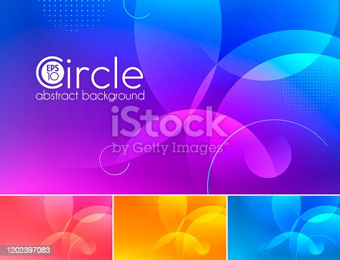 istock circle abstract background 1202397083