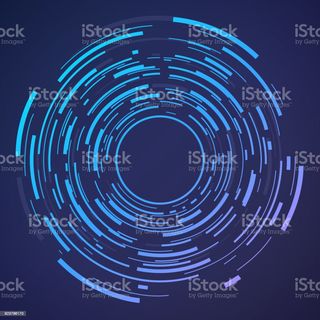 Circle Abstract Target vector art illustration