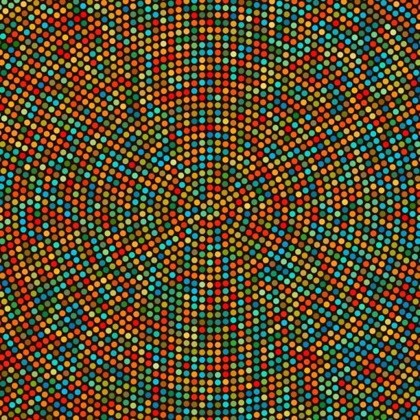 Kreishintergrund – Vektorgrafik