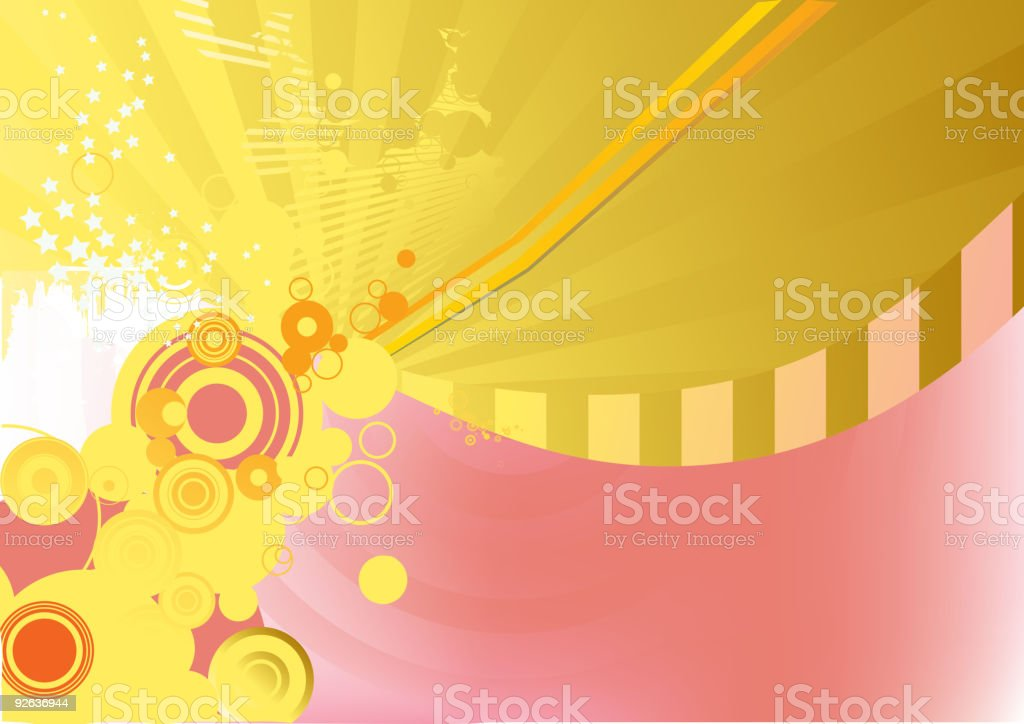 Circle background. royalty-free stock vector art