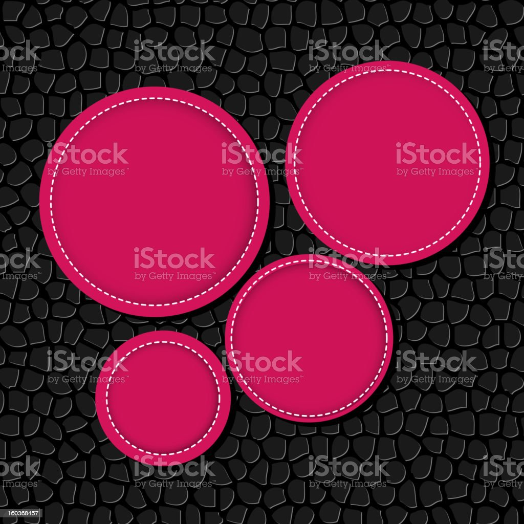 Circle banner vector illustration background royalty-free stock vector art