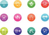 Circle Color Icons - Management