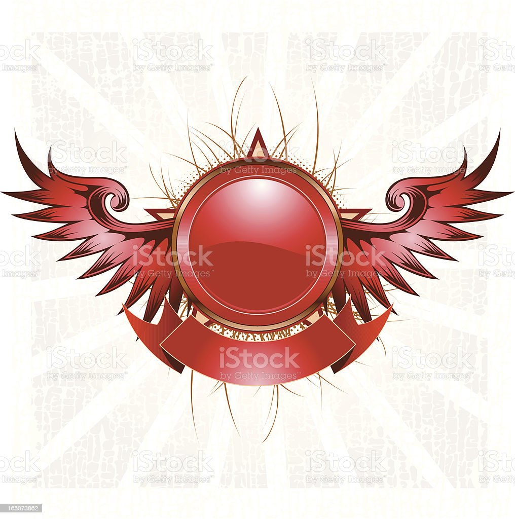 circle crest royalty-free stock vector art