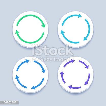 Circle Cycle Arrows