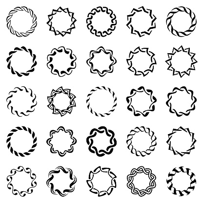 Circle design elements