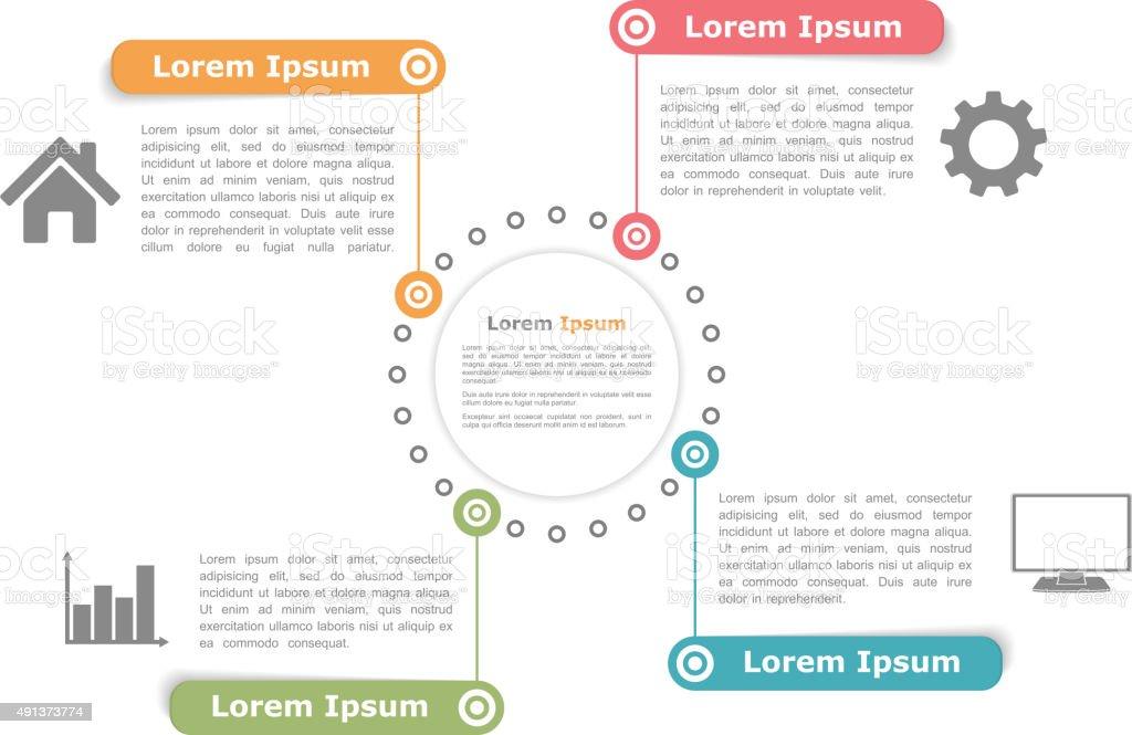 Ilustrao de diagrama de circuito com quatro elementos e mais banco diagrama de circuito com quatro elementos ilustrao de diagrama de circuito com quatro elementos e mais ccuart Images