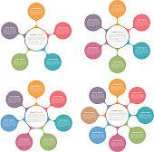 Circle Diagrams Set