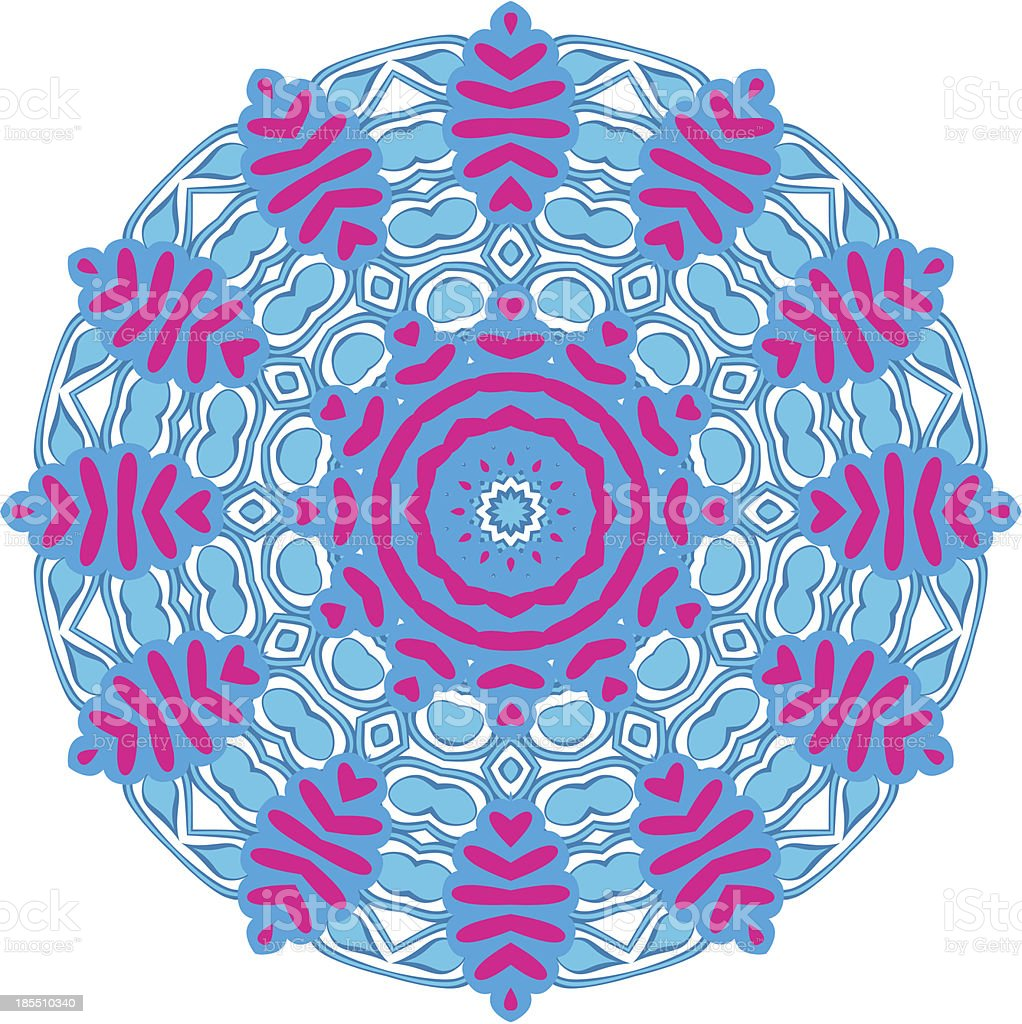 Circle floral ornament royalty-free circle floral ornament stock vector art & more images of abstract
