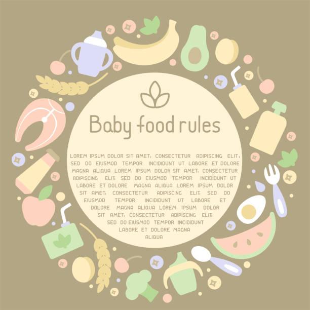 Best Baby Food Jars Illustrations, Royalty-Free Vector ...