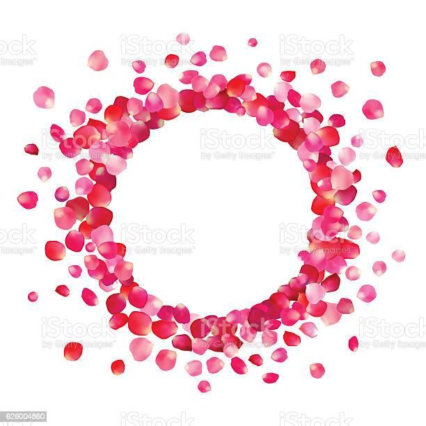 Circle frame of pink rose petals vector id626004860?b=1&k=6&m=626004860&s=612x612&h=jegke 6f6i4hqf7o4k0lb5n njhhzlfxph hka8dntm=