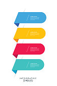 istock Circle infographics elements design. Abstract workflow stock illustration. Speech Bubble shapes 1256647592