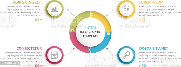 Circle infographics four elements vector id946862924?b=1&k=6&m=946862924&s=612x612&h=qsl84g1fh7glosscvrp6bcvzs8hh3lylgeloflqkiec=