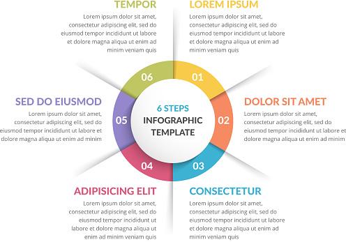 infographics 6 stock illustrations
