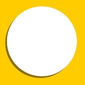 Circle Label Blank Sticker