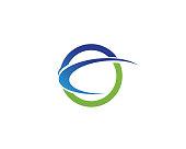 circle logo and symbols Vector
