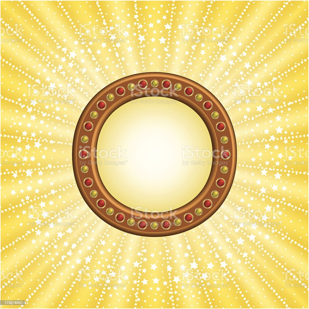 Circle marquee royalty-free stock vector art