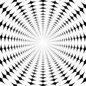 istock Circle pattern into bright light infinity 1330398156
