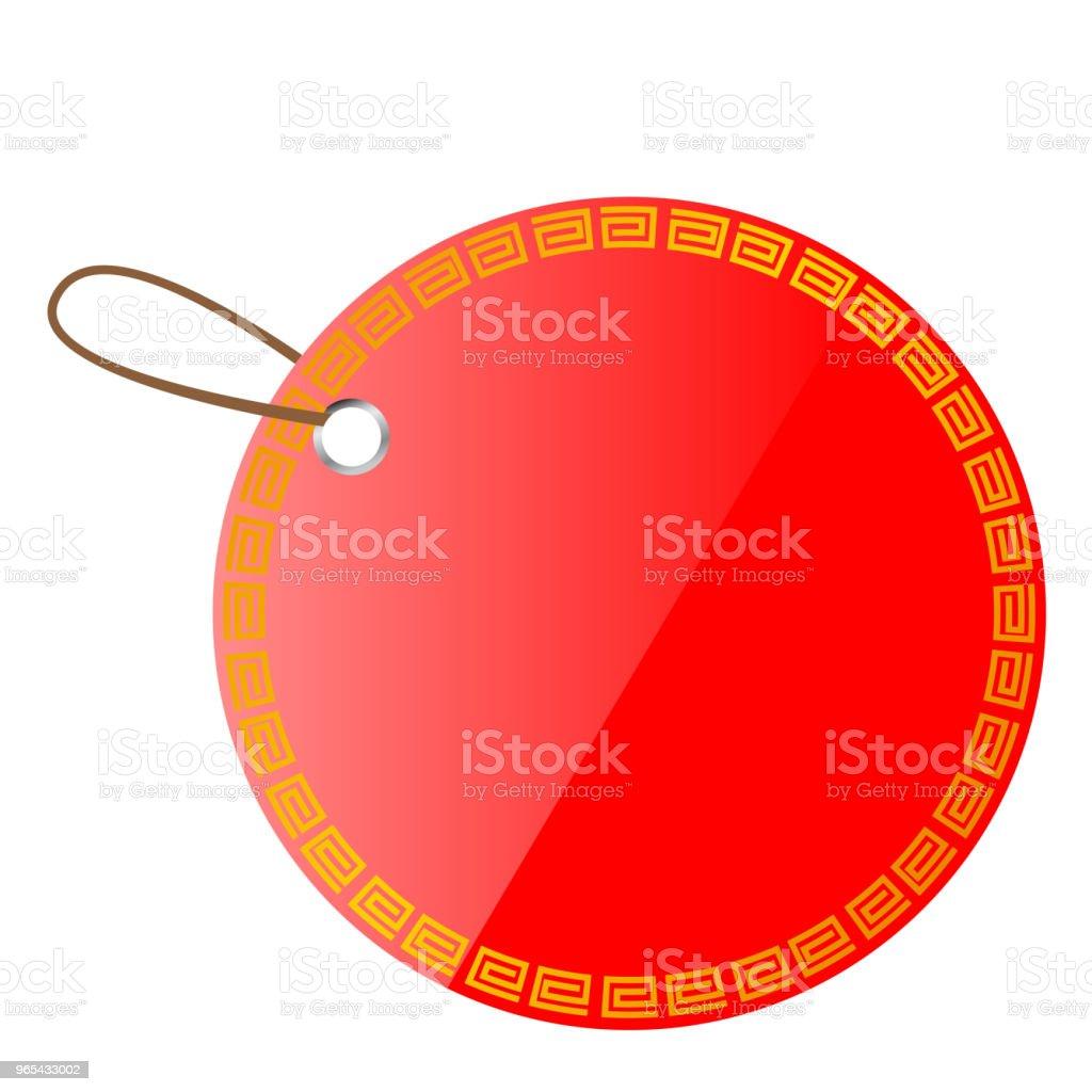 circle red shining blank tag circle red shining blank tag - stockowe grafiki wektorowe i więcej obrazów bez ludzi royalty-free