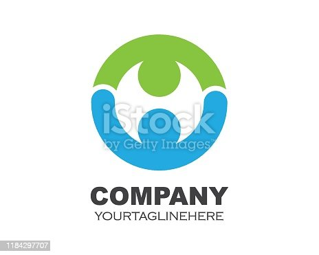 istock circle ring business   logo template vector 1184297707