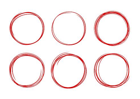 Circle Selection Editing Hand Drawn Lines