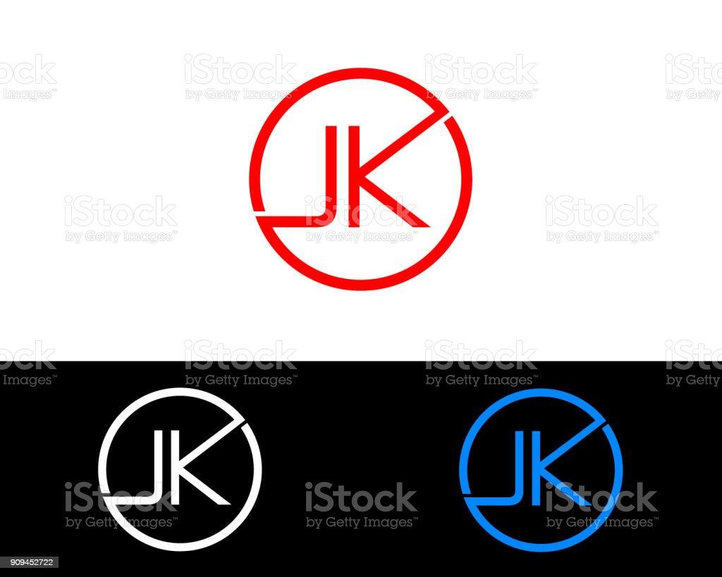 Jk の円図形文字デザイン アイコンのベクターアート素材や画像を多数ご用意 Istock