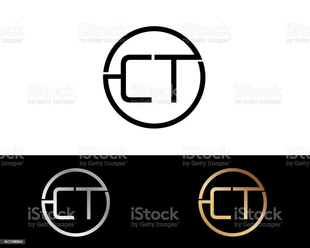 Ctkreis Briefformdesign Stock Vektor Art Und Mehr Bilder Von
