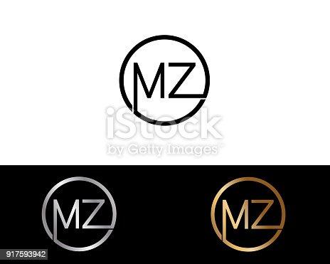 istock MZ Circle Shape vector design 917593942