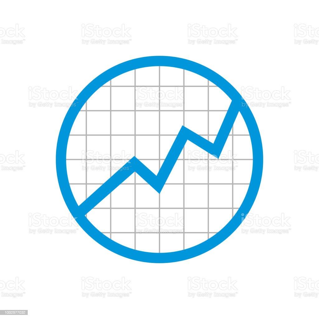 Ilustración De Círculo Estadística Red Rising Up Diseño De Símbolo Y