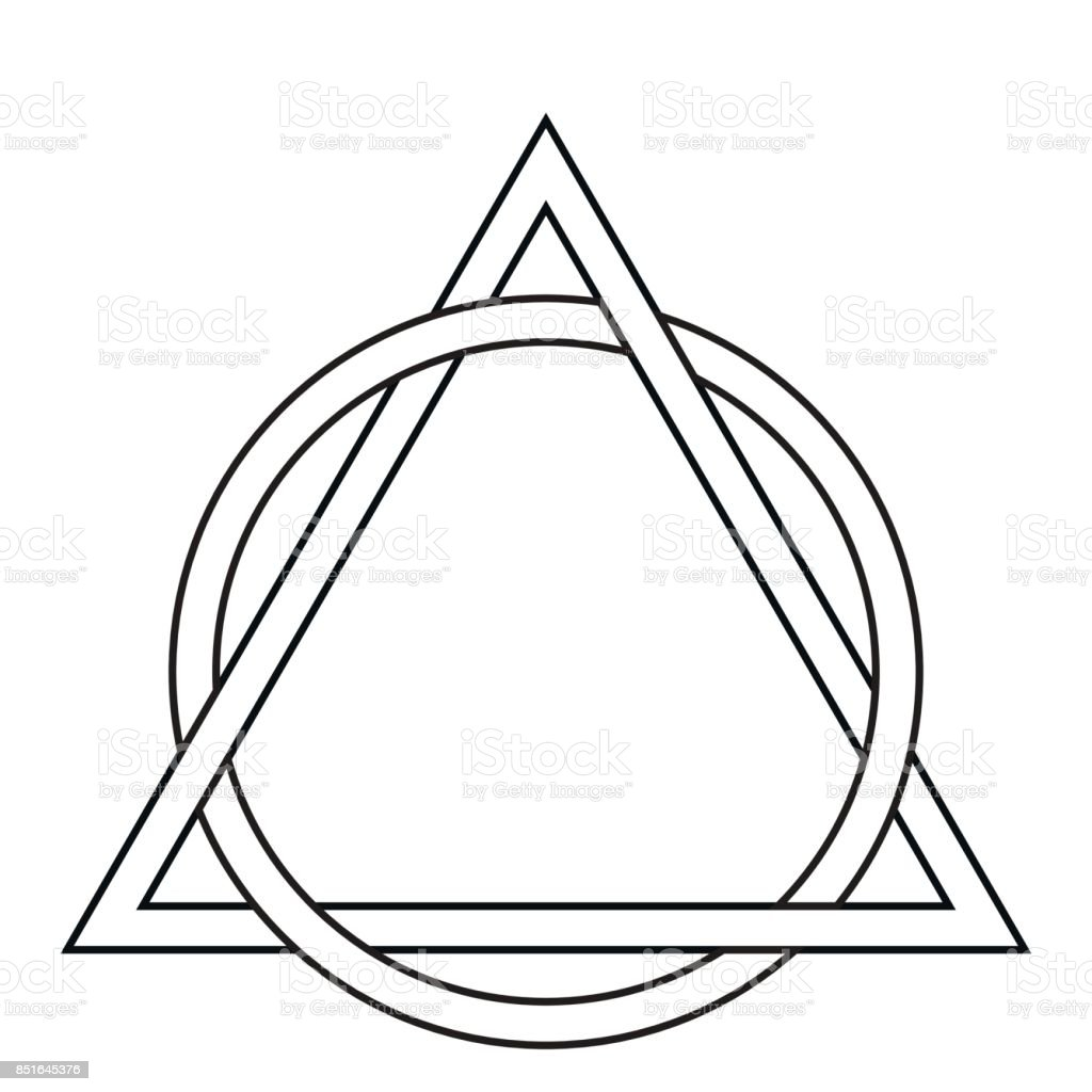 Cercle Darmure Tatouage Triangle Cliparts Vectoriels Et Plus D