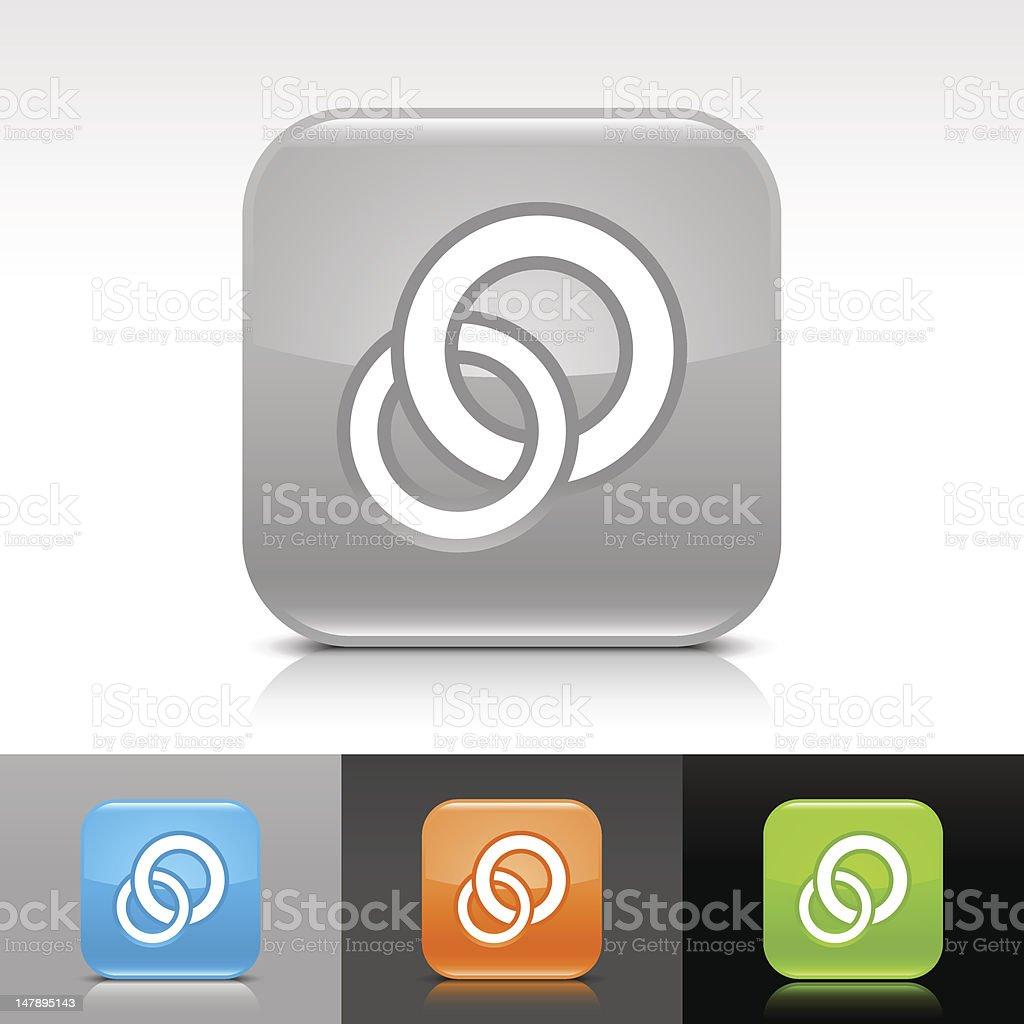 Circles sign. 5 credit royalty-free stock vector art