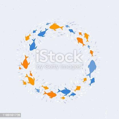Circling Fish