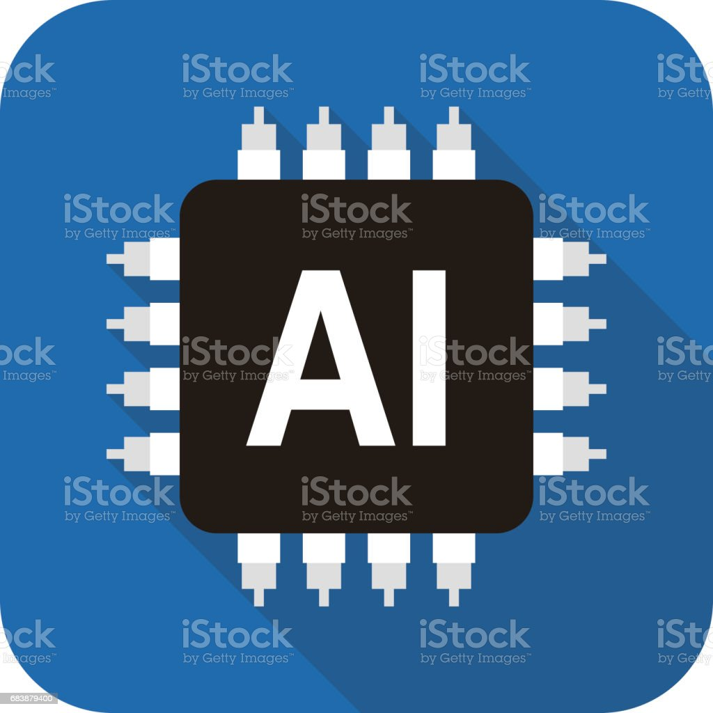 Circuit board, Artificial intelligence concept, vector illustration vector art illustration