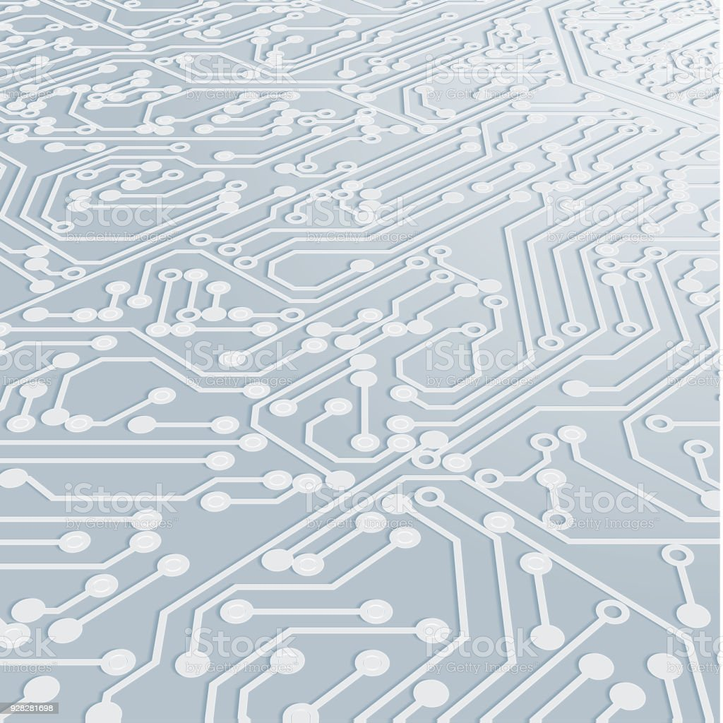 Circuit Board Background Texture Stock Vector Art More Images Of Abstract Design Royalty Free Amp