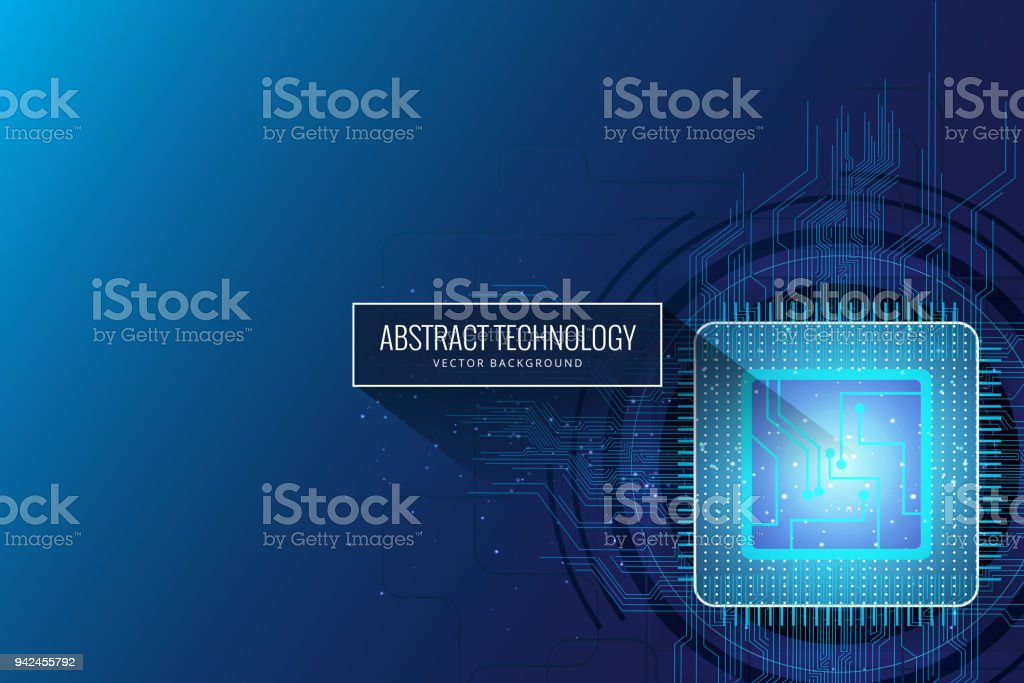 Circuit board chip background royalty-free circuit board chip background stock illustration - download image now