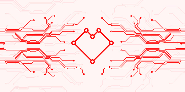 Circuit board heart
