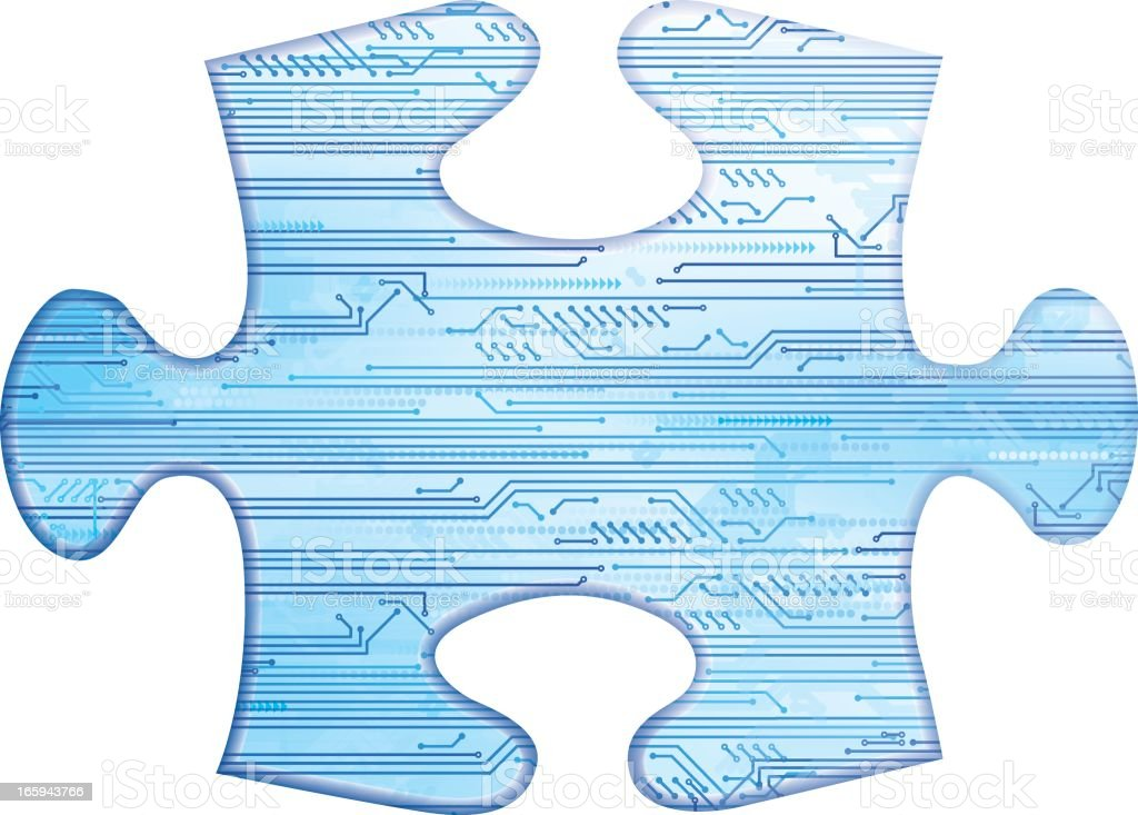circuit board jigsaw piece stock vector art \u0026 more images ofcircuit board jigsaw piece royalty free circuit board jigsaw piece stock vector art \u0026amp;