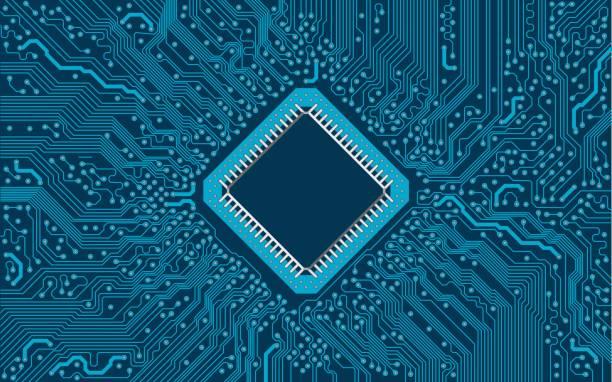 circuit board - farbchips stock-grafiken, -clipart, -cartoons und -symbole